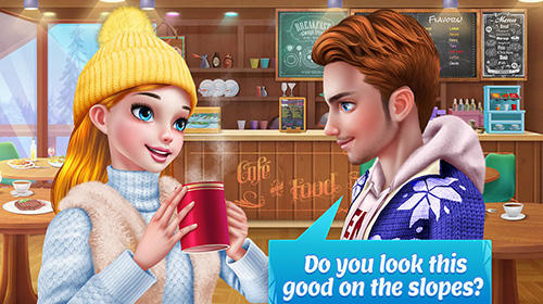 Ski girl superstar: Winter sports and fashion game für Android
