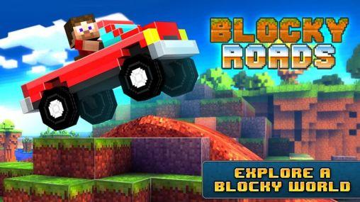 Blocky roads screenshot 1