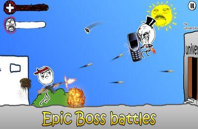 Screenshot Wütende Krieger - Comic-Shooter auf dem iPhone