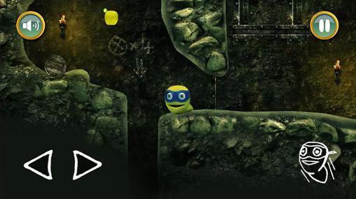 Arcade Ninja worm für das Smartphone