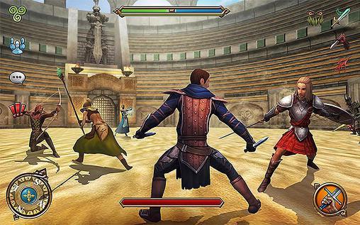 Celtic heroes: 3D MMO screenshot 1