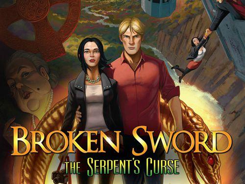 логотип Сломанный меч 5: Проклятие змея