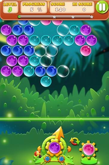 Blasen-Spiele Bubble bubble auf Deutsch
