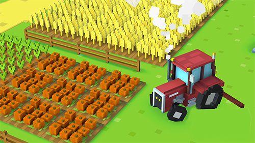 Simuladores: faça o download de Fazenda de blocos para o seu telefone