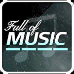 Full of music: MP3 rhythm game Symbol