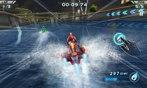 Powerboat racing für Android