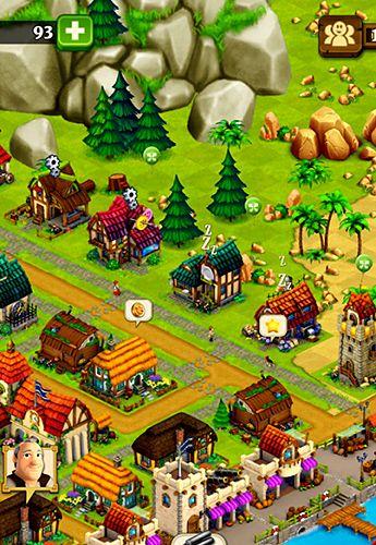 Town village: Farm, build, trade на русском языке