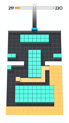 Arcade Color fill 3D für das Smartphone