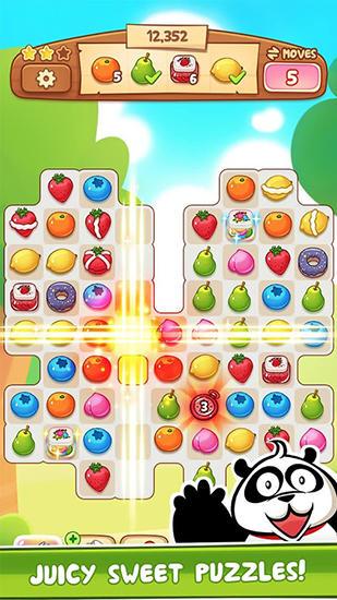 Arcade-Spiele Fruit revels für das Smartphone
