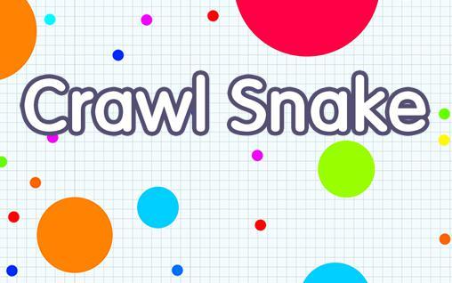 Crawl snake icon
