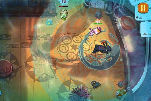 Screenshot Tintenfische: Wilder Westen auf dem iPhone