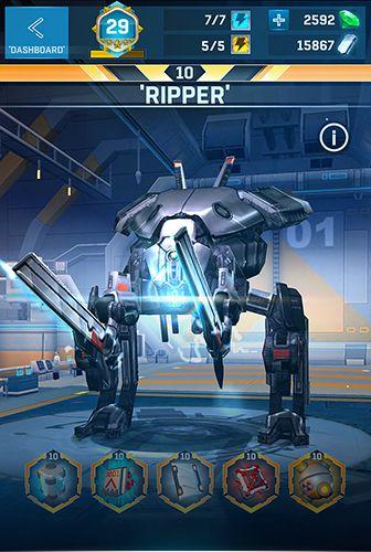 Destruição de robôs para iPhone