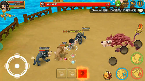 Dragonsaga screenshot 1