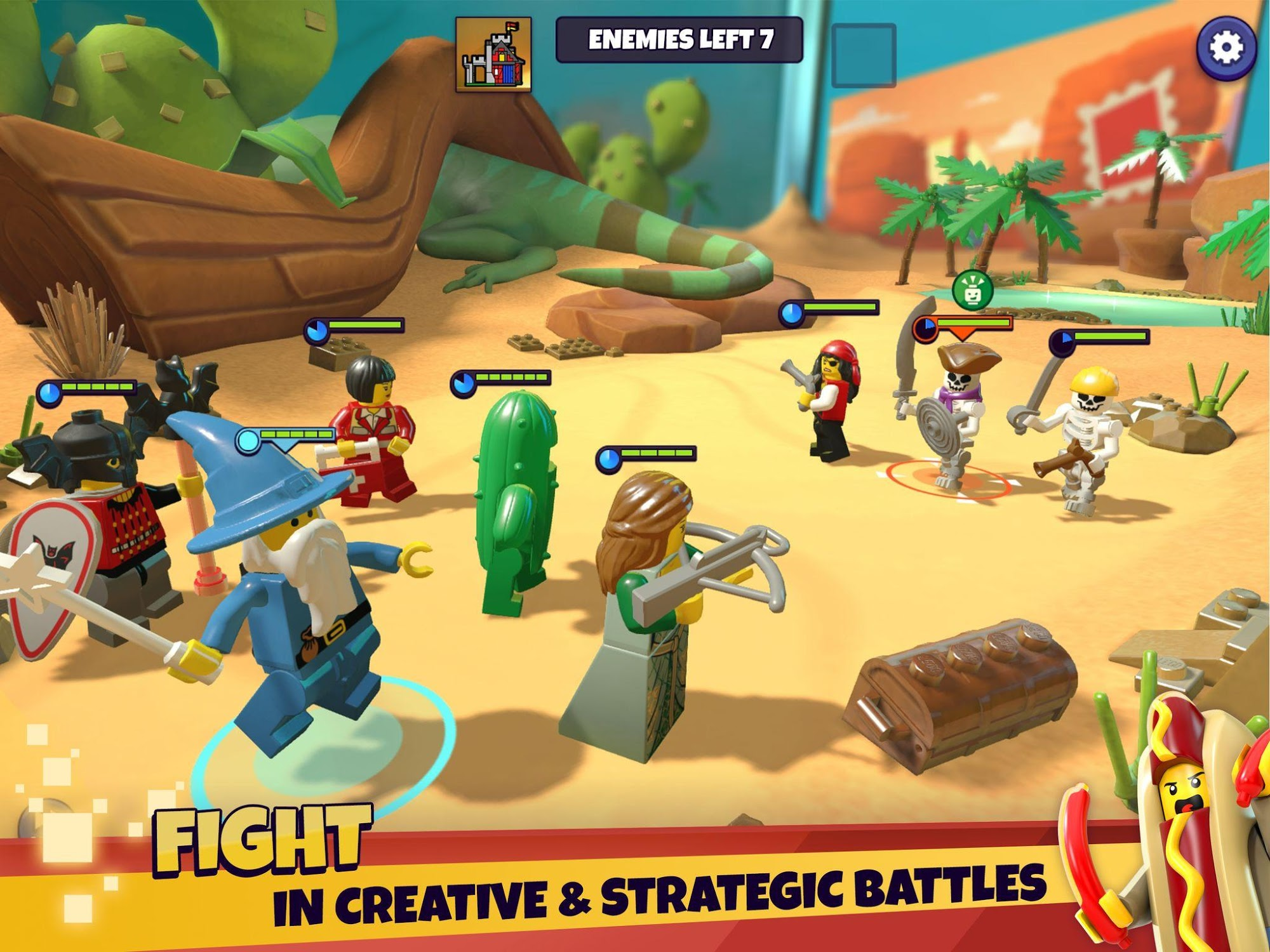 LEGO® Legacy: Heroes Unboxed для Android