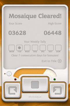 Скриншот Мозайка на Айфон