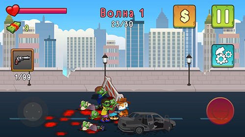 Two guys and zombies captura de tela 1