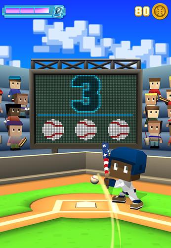 Baseball-Spiele Blocky baseball auf Deutsch