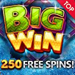 Winter magic: Casino slots icon