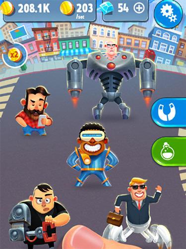 Arcade-Spiele Human evolution clicker game: Rise of mankind für das Smartphone