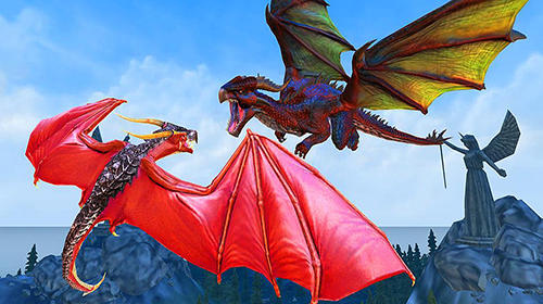 Dragon fantasy war survival 3D auf Deutsch