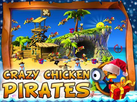 логотип Божевільні Кури: Пірати - Різдвяний випуск