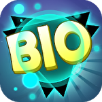 Bio blast. Infinity battle: Fire virus! Symbol