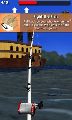 Arcade Big River Fishing 3D für das Smartphone