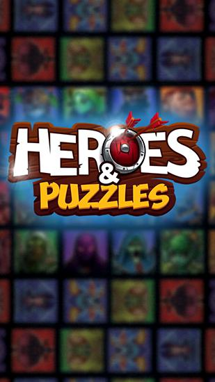 Heroes and puzzles captura de tela 1