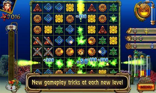 Arcade-Spiele Treasures of the deep für das Smartphone