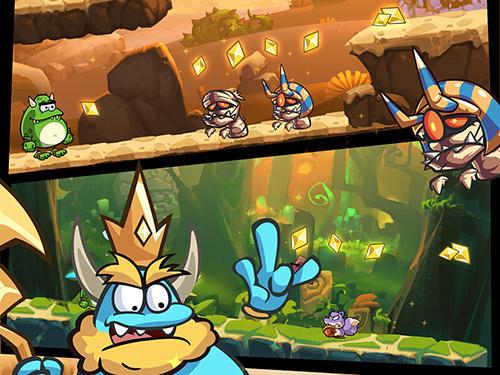 Arcade-Spiele Monsu 2 für das Smartphone