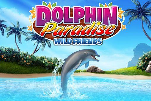 logo Delphin Paradies: Wilde Freunde