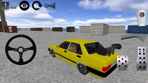 Car drift 3D 2014 Screenshot