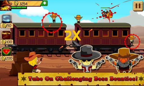 Cowboy games Bounty hunter: Miss Jane in English