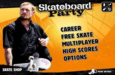 Multiplayer: Lade Mike V: die Skateboard Party auf dein Handy herunter