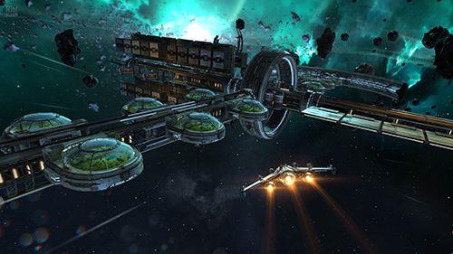 Onlinespiele: Lade Brennende Galaxie 3: Mantikor auf dein Handy herunter