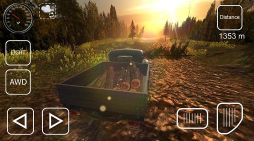 Offroad cargo pickup driver screenshot 1