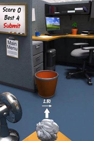 Paper toss скриншот 2