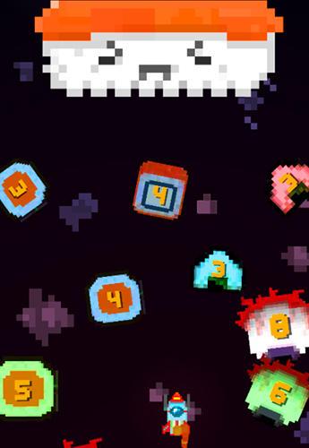 Flugspiele Pixel space blast auf Deutsch
