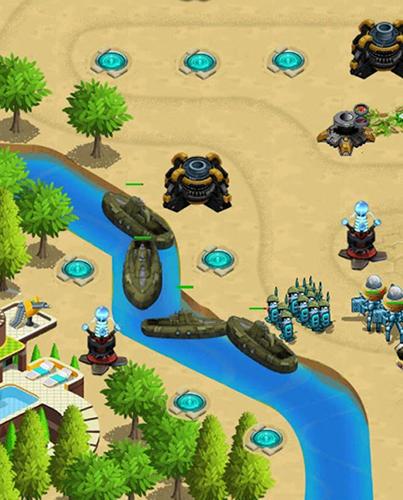 City tower defense final war 2 für Android