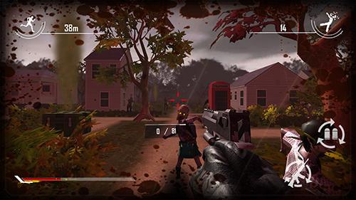 Zombie Shooter Behind zombie lines auf Deutsch