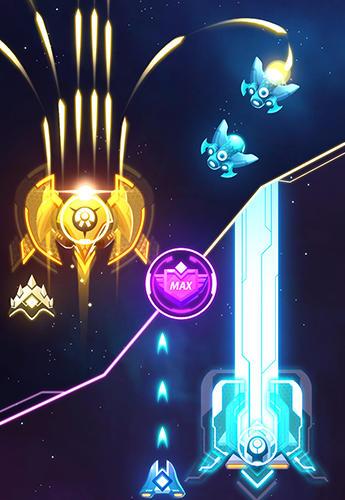 Arcade Star force: Patrol armada for smartphone