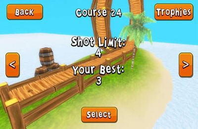 Crazy Island Golf! for iPhone