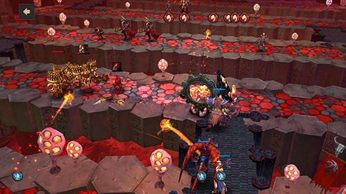 Strategie RPG Dungeon simulator: Strategy RPG auf Deutsch