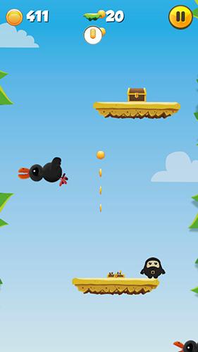 Juegos de arcade Fat jumping ninja para teléfono inteligente