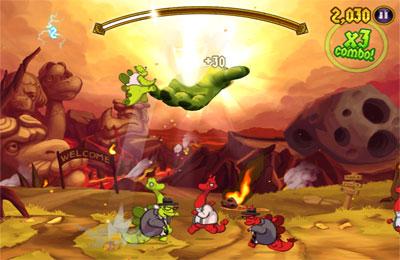 Jogos de arcade: faça o download de Velocirapture para o seu telefone
