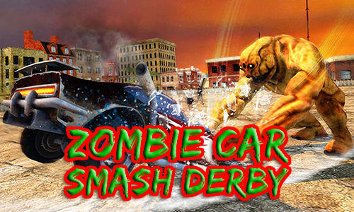 Zombie car smash derby Screenshot