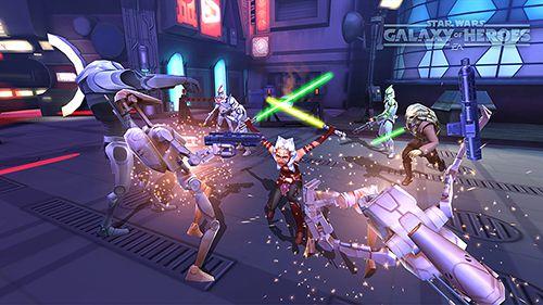 角色扮演游戏:下载Star wars: Galaxy of heroes到您的手机