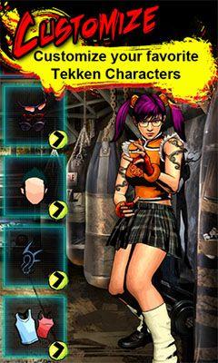 Multiplayerspiele Tekken arena für das Smartphone