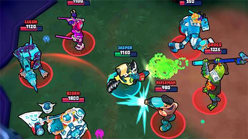 Space Brawls: 3v3 battle arena Screenshot
