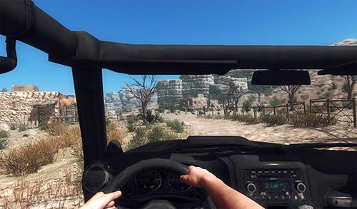 Desert storm screenshot 1